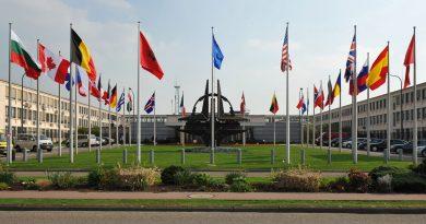 NATO HEADQUARTERS DESTROYED