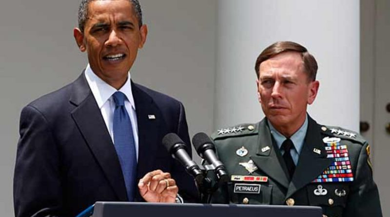 THE GENERAL PETRAEUS SCANDAL AND DONALD J. TRUMP