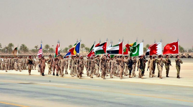 THE GREAT ARAB ARMY MARCHES FORWARD