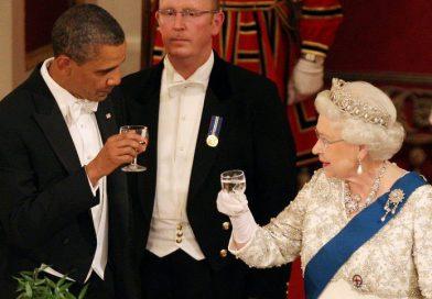 THE BRITISH GOVERNMENT RESTORES BARACK OBAMA