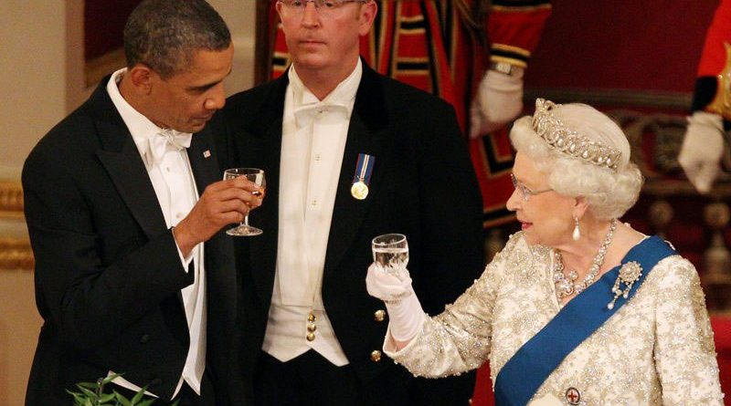 THE BRITISH GOVERNMENT RESTORES BARACK OBAMA