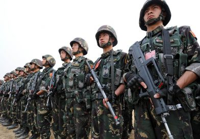 CHINESE ARMY ENTERS THE MIDDLE EAST