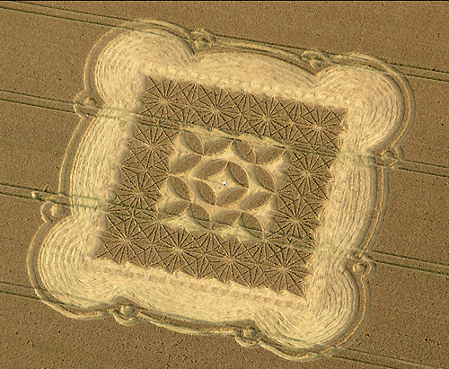 Crop circle coloring pages mandala celtic